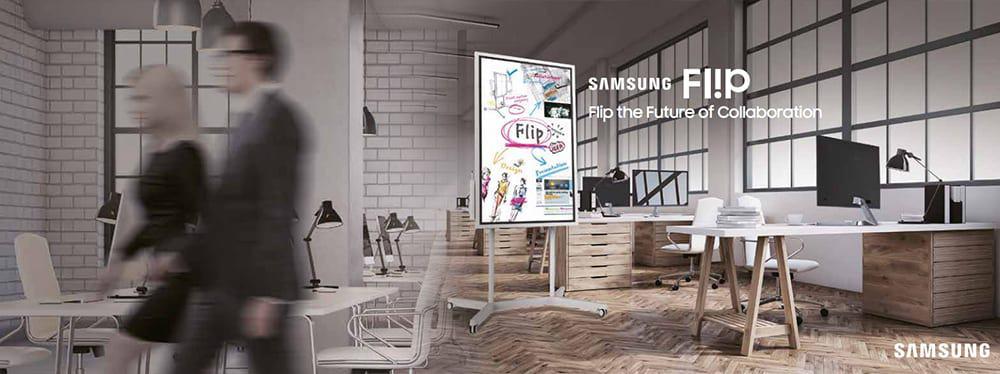 The Samsung Flip – Innovative Digital Flipchart